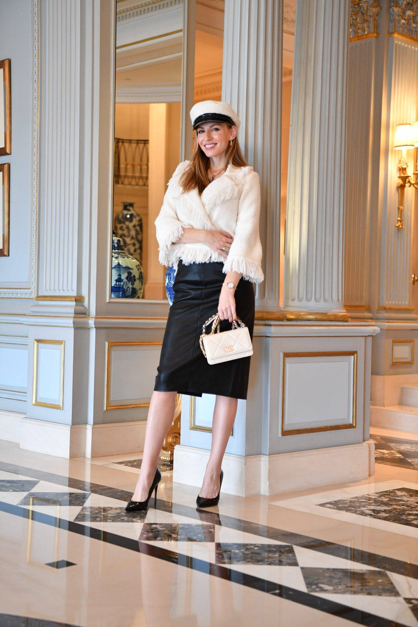 Four Seasons Hotel, Bella_Zofia is wearing Millé Milano look,  Izabela Switon-Kulinska