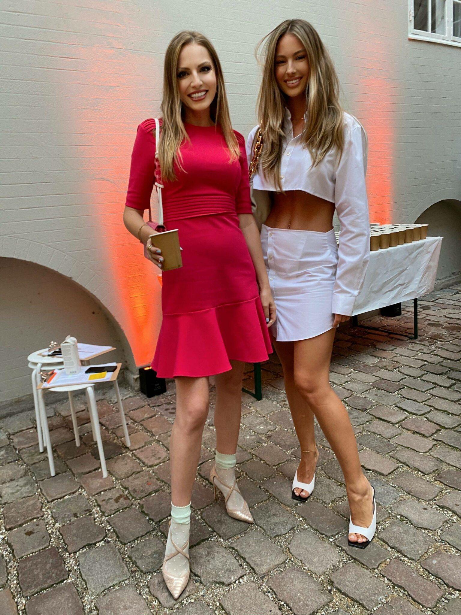 With Mathilde Gøhler