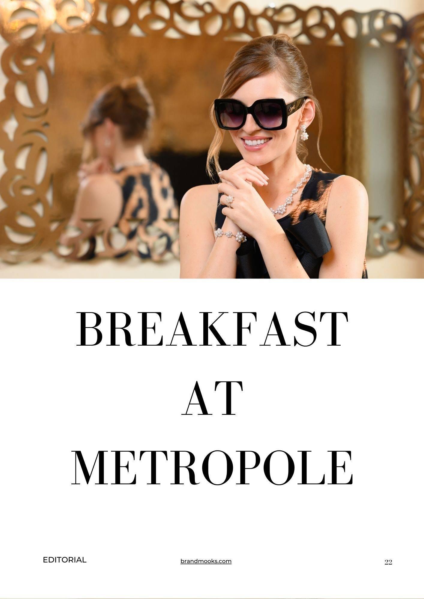 Breakfast at Metropole Hotel