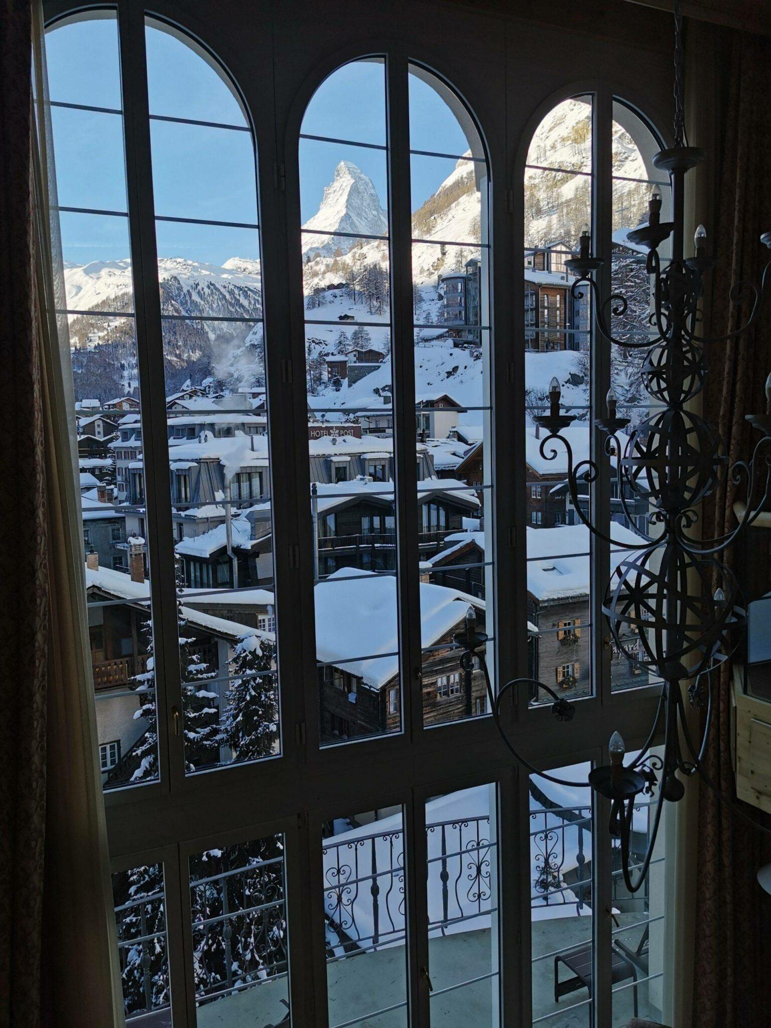Mont Cervin Palace Room view