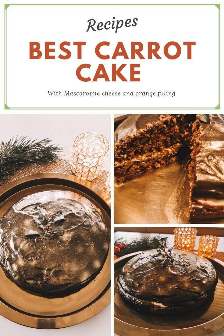 The Best Carrot Cake Recipe 3