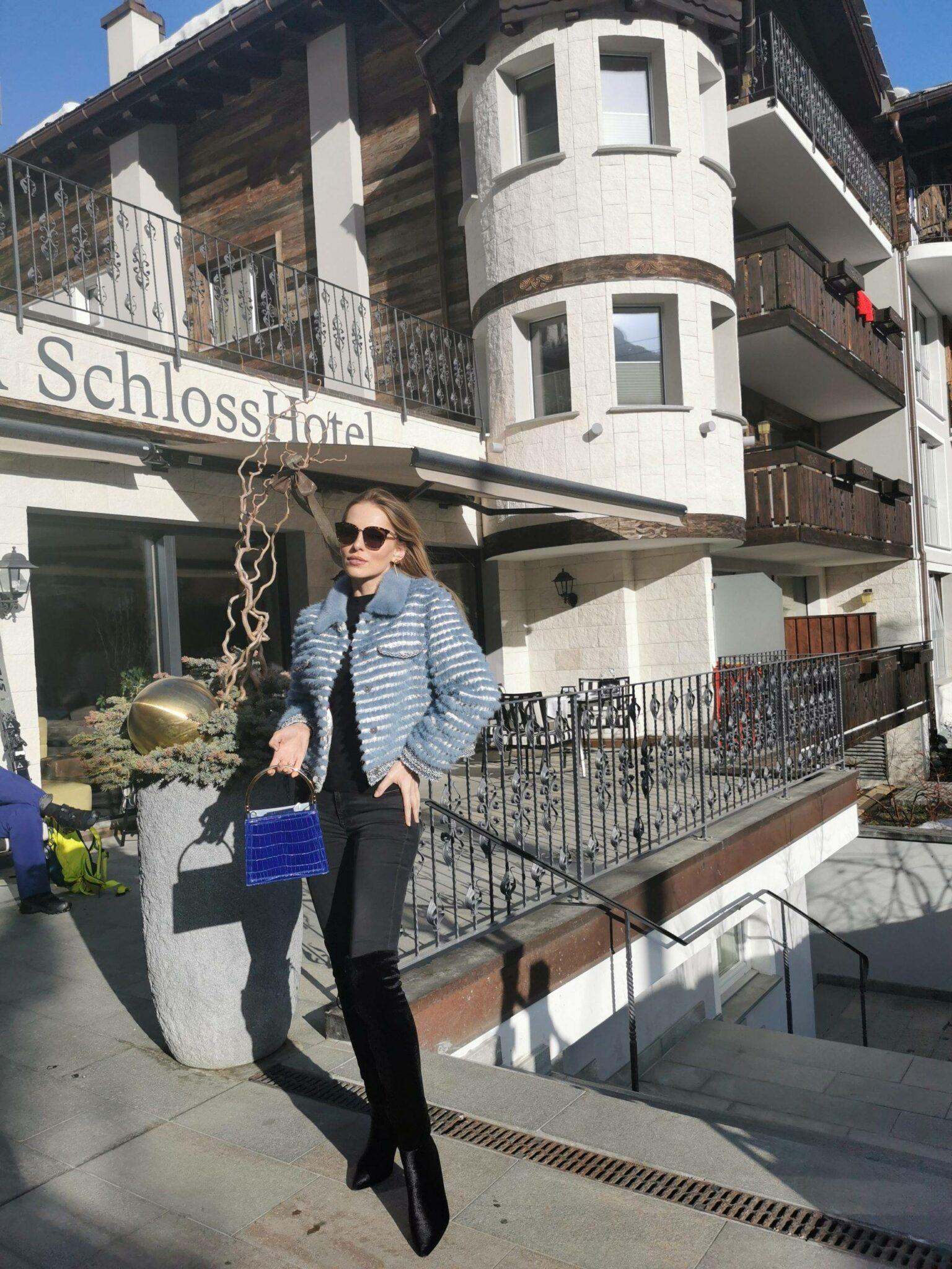 Bella Zofia in Schloss Hotel Zermatt