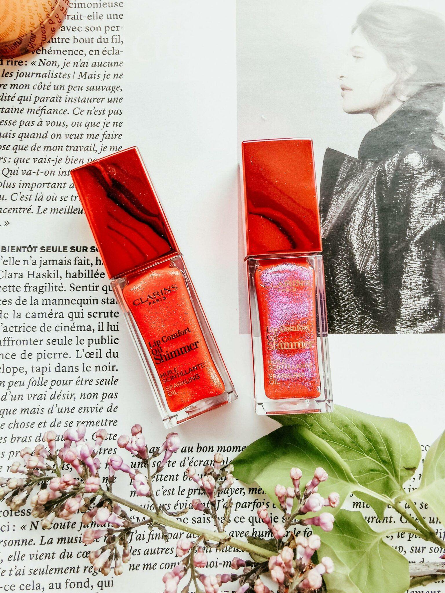 New Lip Comfort Oil Shimmer by Clarins review  by Izabela Switon-Kulinska Bella_zofia Swiss Blogger, Swiss Influencer