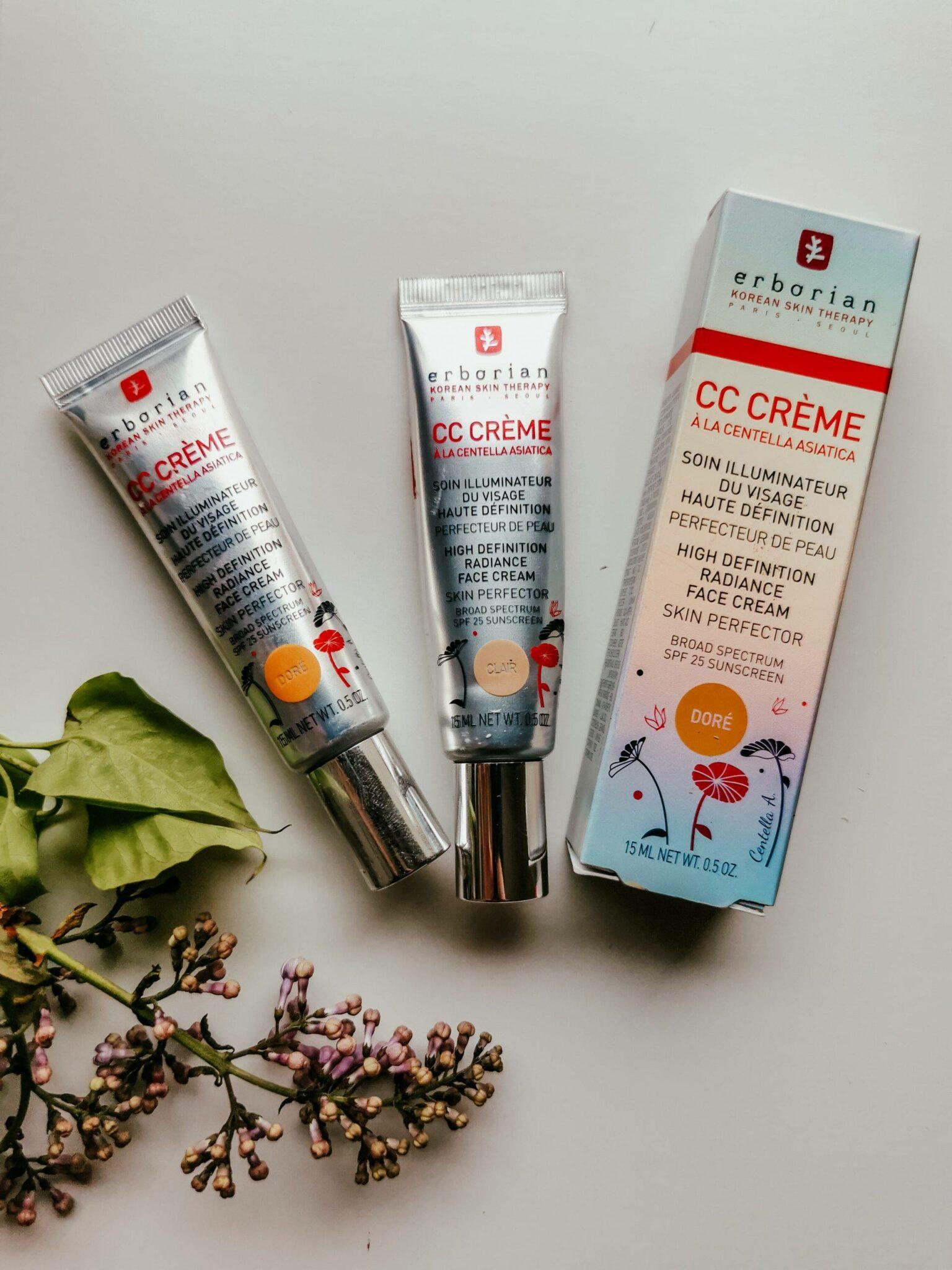 Erborian CC creme review  by Izabela Switon-Kulinska Bella_zofia Swiss Blogger, Swiss Influencer